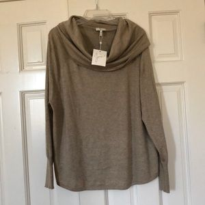 NWT Joie Cowl Neck Sweater